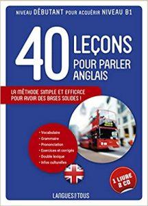 40 leçons pour apprendre l'anglais, éditions Pocket
