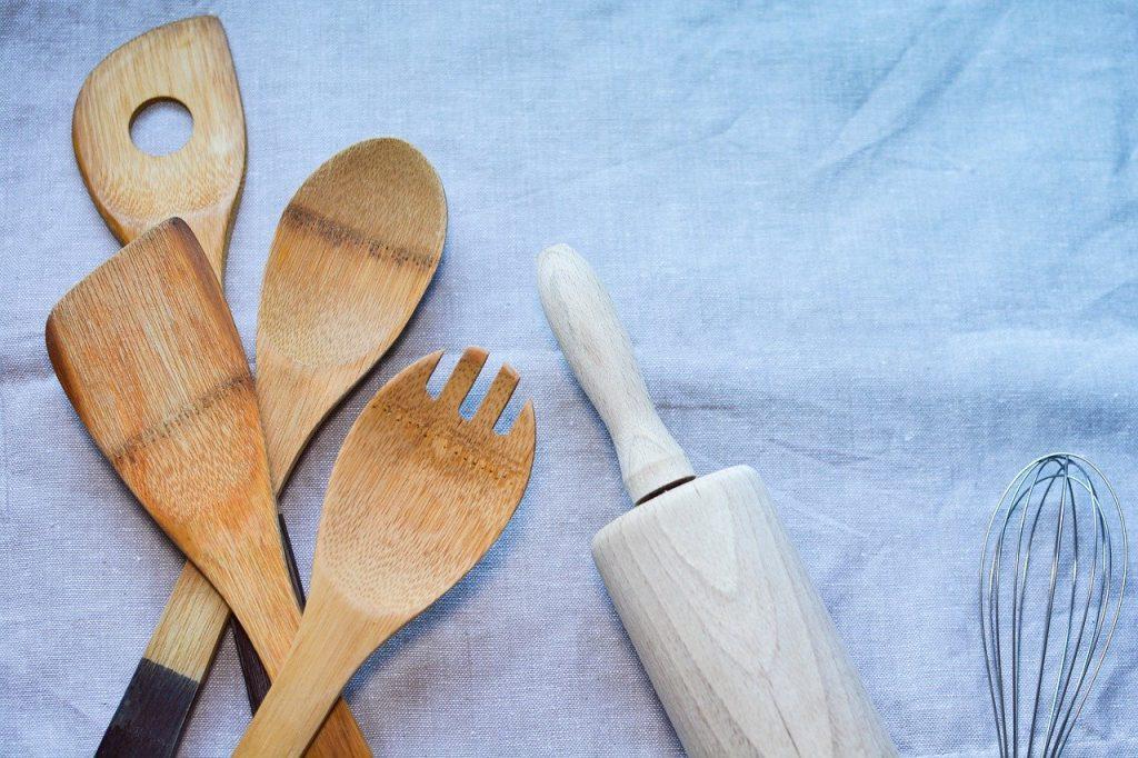 Ustensile de cuisine en bois