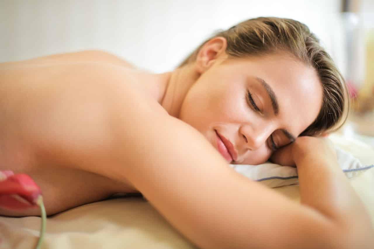 Moment détente massage