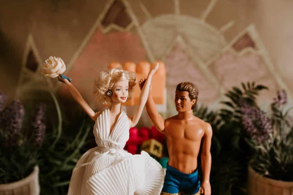 poupée barbie et ken