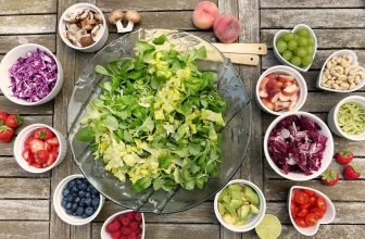 Composition de salade